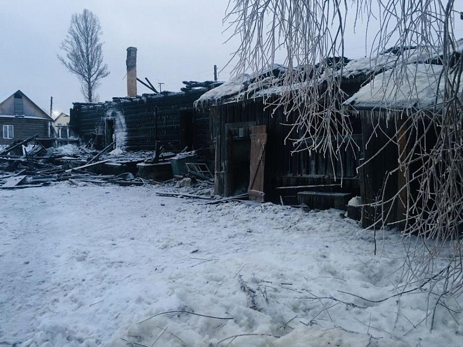 В Тверской области на пожаре сгорел молодой мужчина