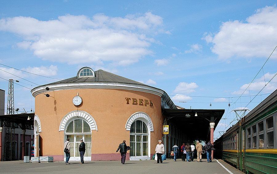 На станции Тверь проходят экскурсии по историческому зданию Николаевского вокзала