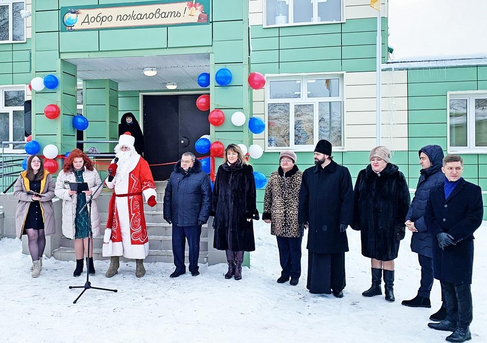 В районе Тверской области дети будут ходить в новую школу
