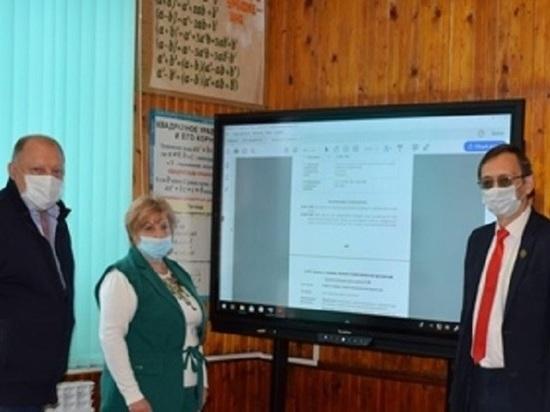 Председатель Закcобрания Тверской области посетил Молодотудсткую сельскую школу