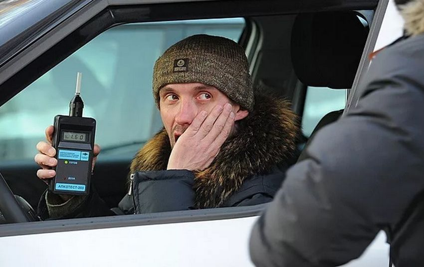 Тотальная облава на пьяных водителей проходит в Тверской области