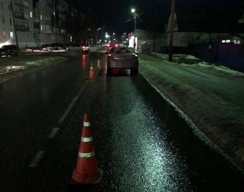 Пешеход-нарушитель попал под колеса иномарки в Твери