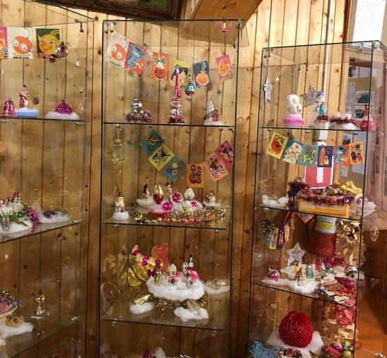 В музее Тверской области проходит выставка советских новогодних игрушек