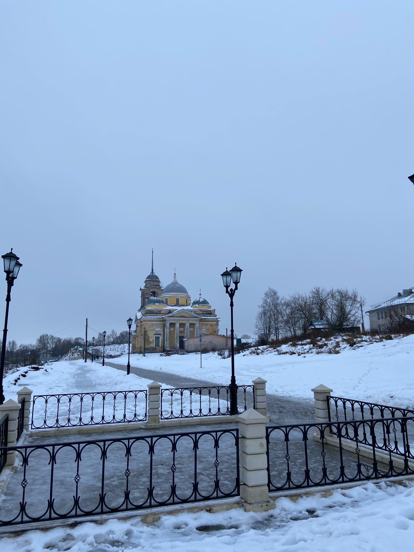 Тверской фотограф запечатлела зимнюю Старицу