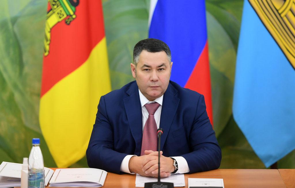 Игорь Руденя: после реконструкции Вышневолоцкая ЦРБ станет крупным межрайонным высокотехнологичным центром