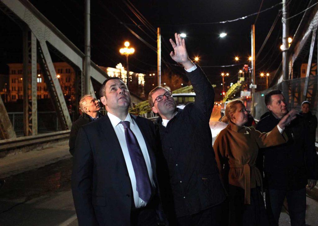 Игорь Руденя: регион готов к началу строительства Западного моста в Твери