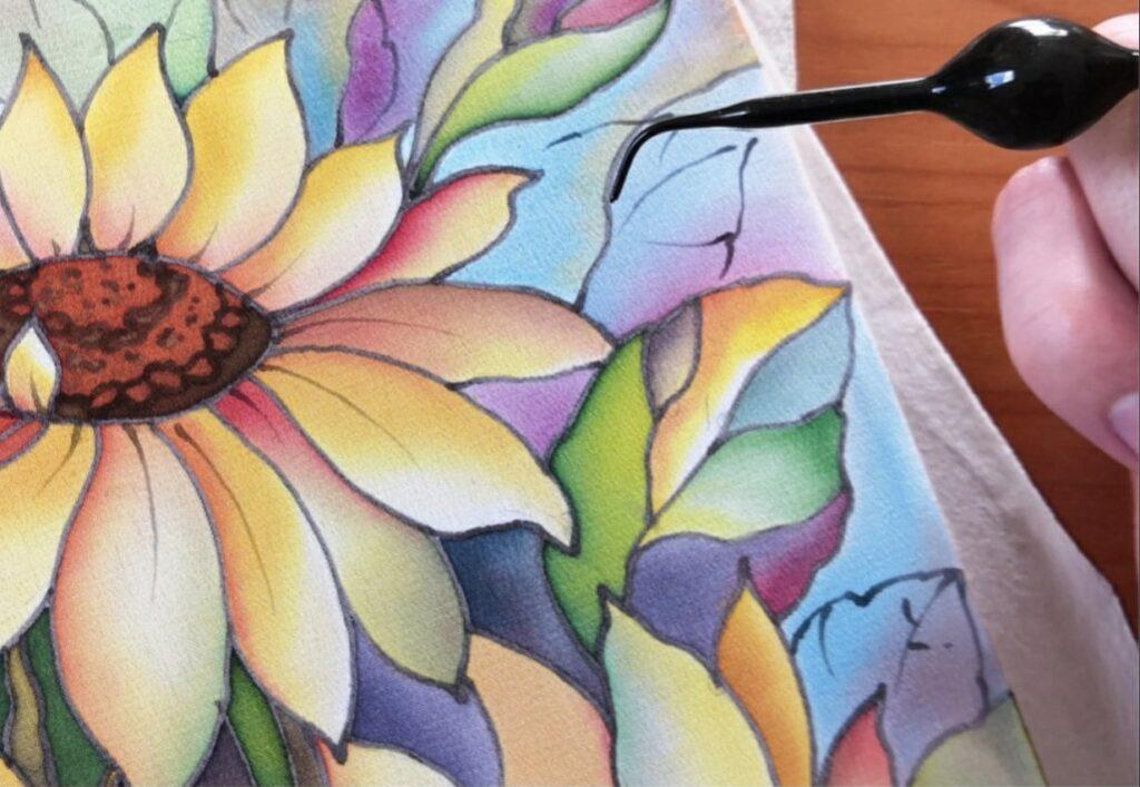 Жителей Твери научат рисовать батиком на шелковой ткани
