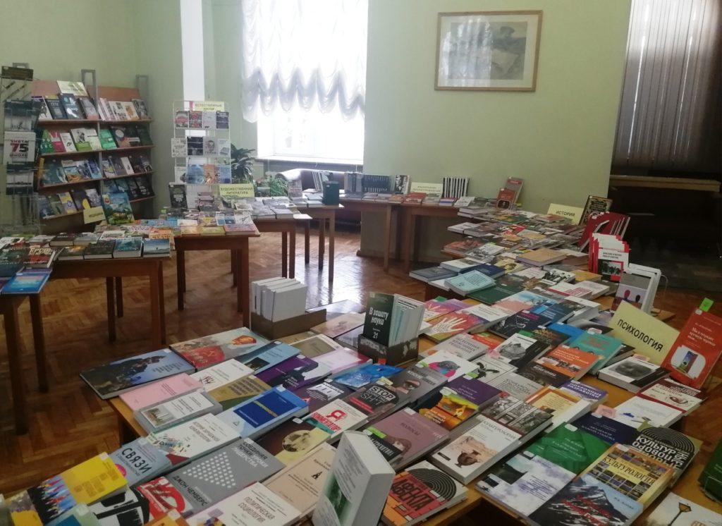 Горьковка ждёт тверских книголюбов для знакомства с новым поступлением изданий