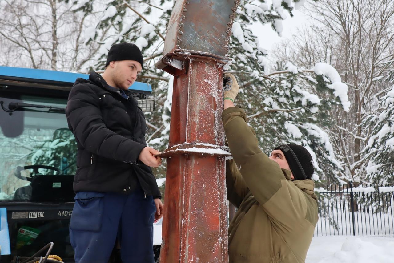 Тверские студенты-аграрии изобрели снегомет