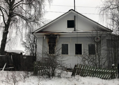 Пожар в Тверской области унес жизнь 91-летней женщины