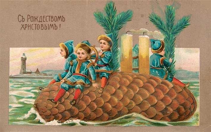 От всей души: какие открытки дарили в дореволюционное время
