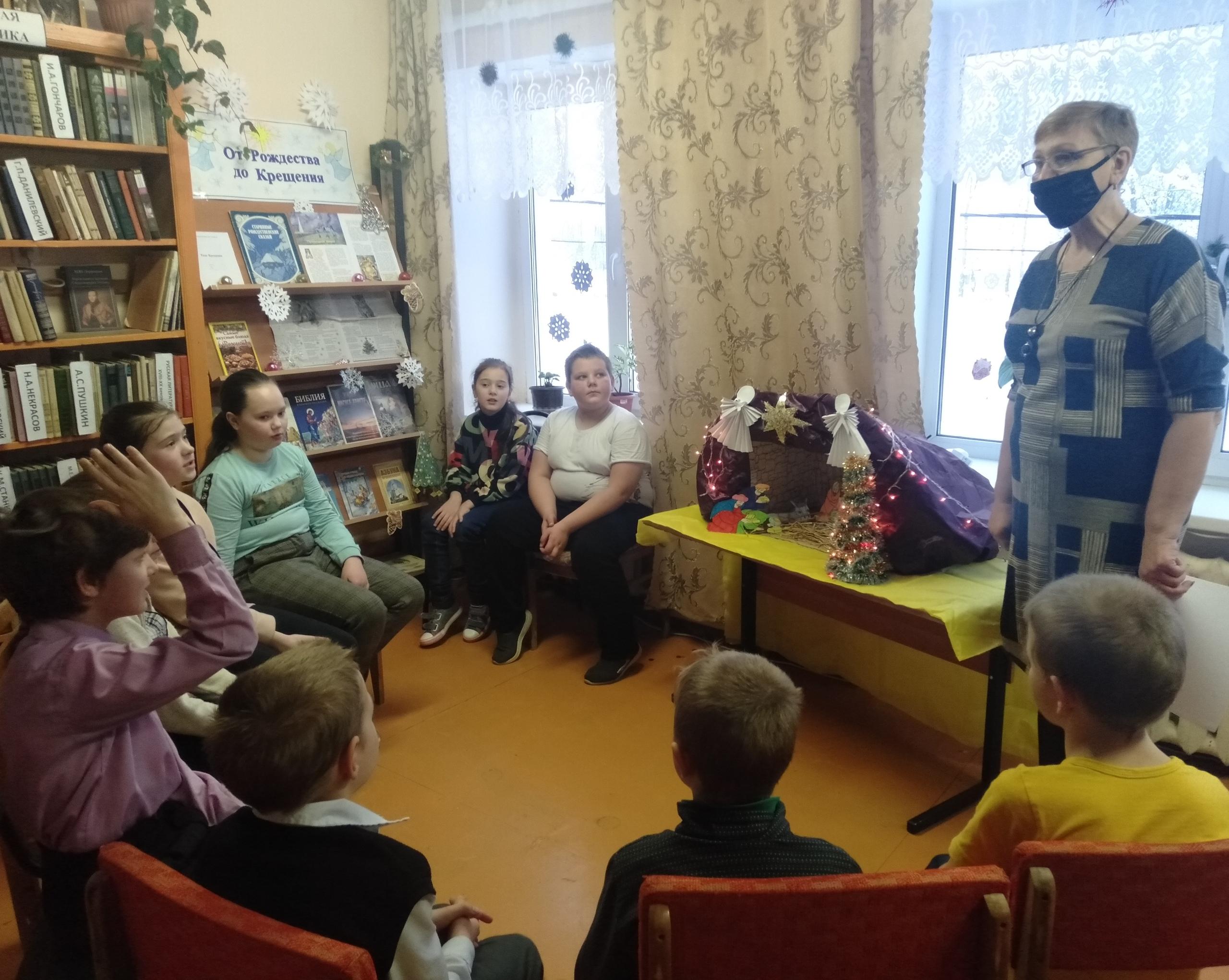 В Ржевском районе состоялись праздничные чтения для школьников
