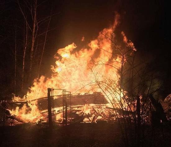 На пожаре в Тверской области был найден труп мужчины