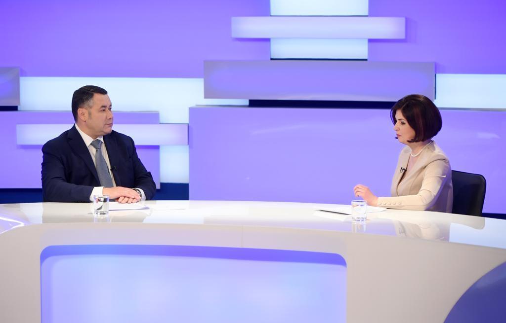 Губернатор Тверской области рассказал о строительстве газопровода Ржев – Нелидово – Западная Двина - Торопец в 2021 году