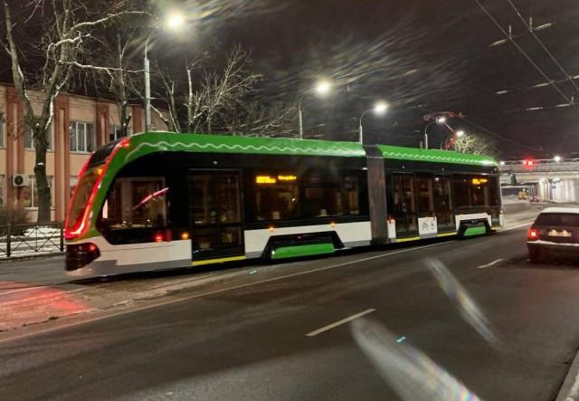 Тверской трамвай «Корсар» начали тестировать в Калининграде