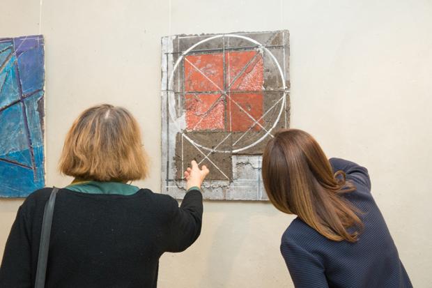 «Открытие Private Banking» проводит выставку работ молодых художников
