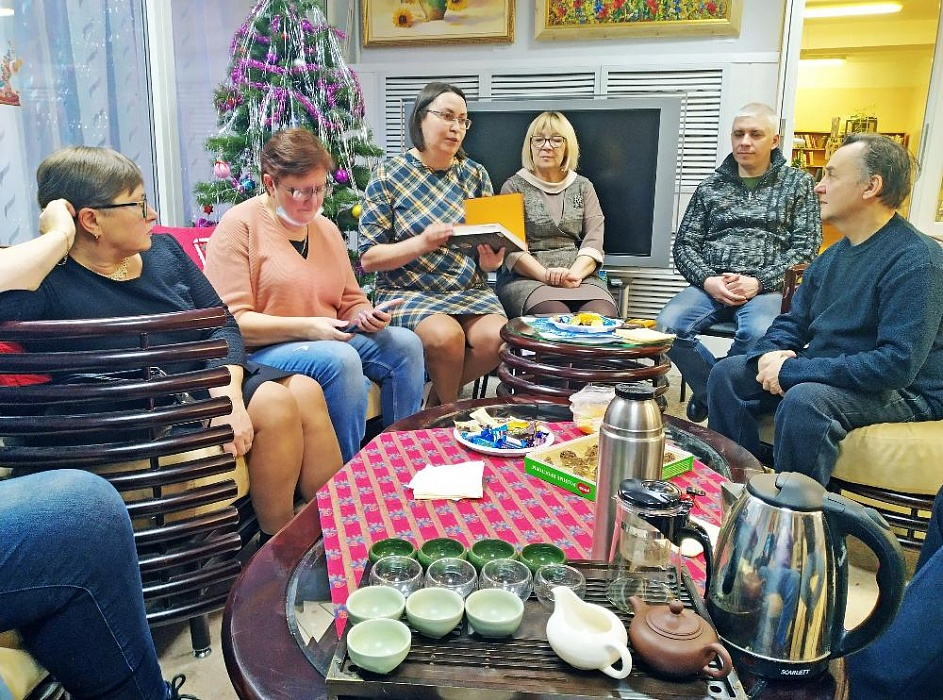 За чашкой чая жители Конаковского района обсудили кумиров молодости