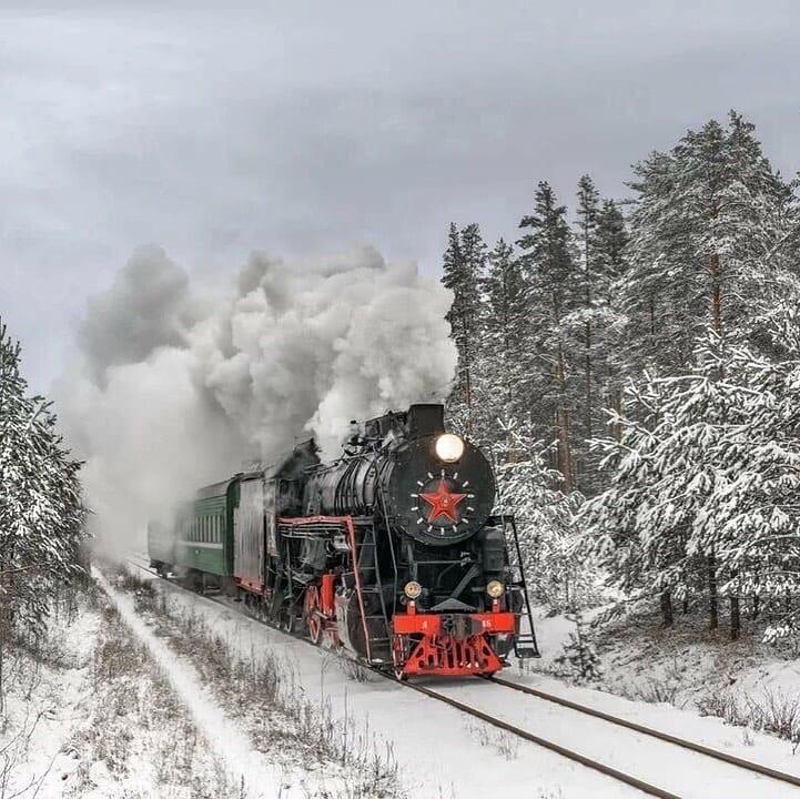 На ретропоезде Бологое-Осташков можно совершить путешествие во времени