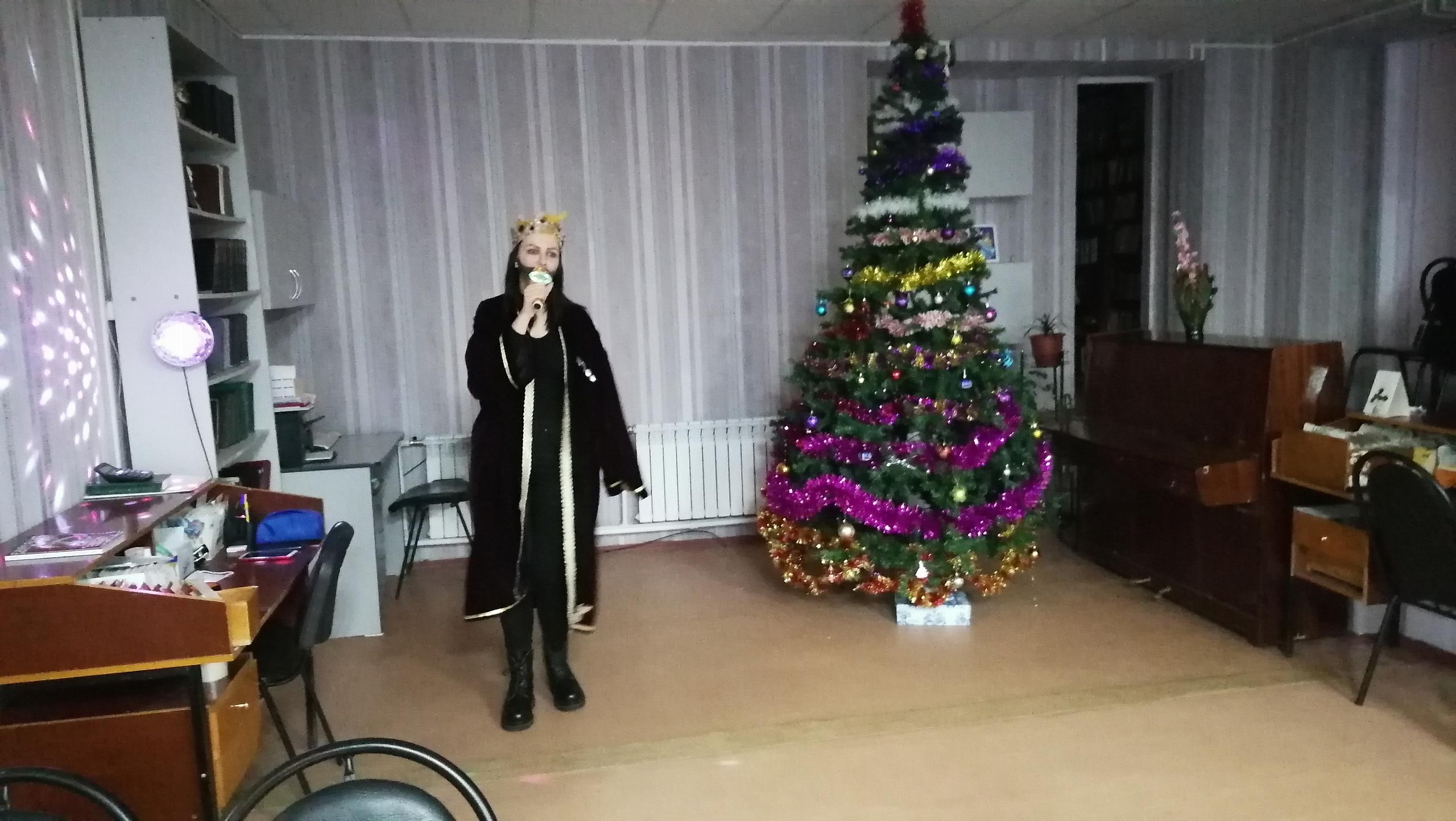 Ржевские школьники поучаствовали в представлении «Новогодний серпантин»