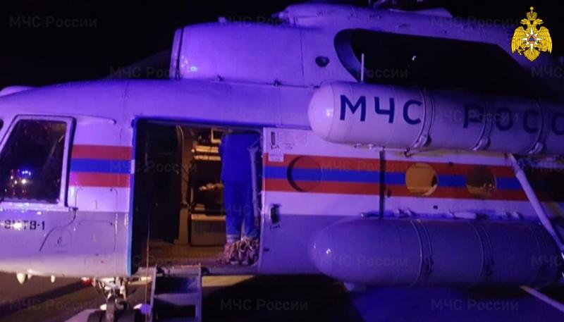 В Тверской области санитарный вертолет вылетел к пациенту Пеновской ЦРБ