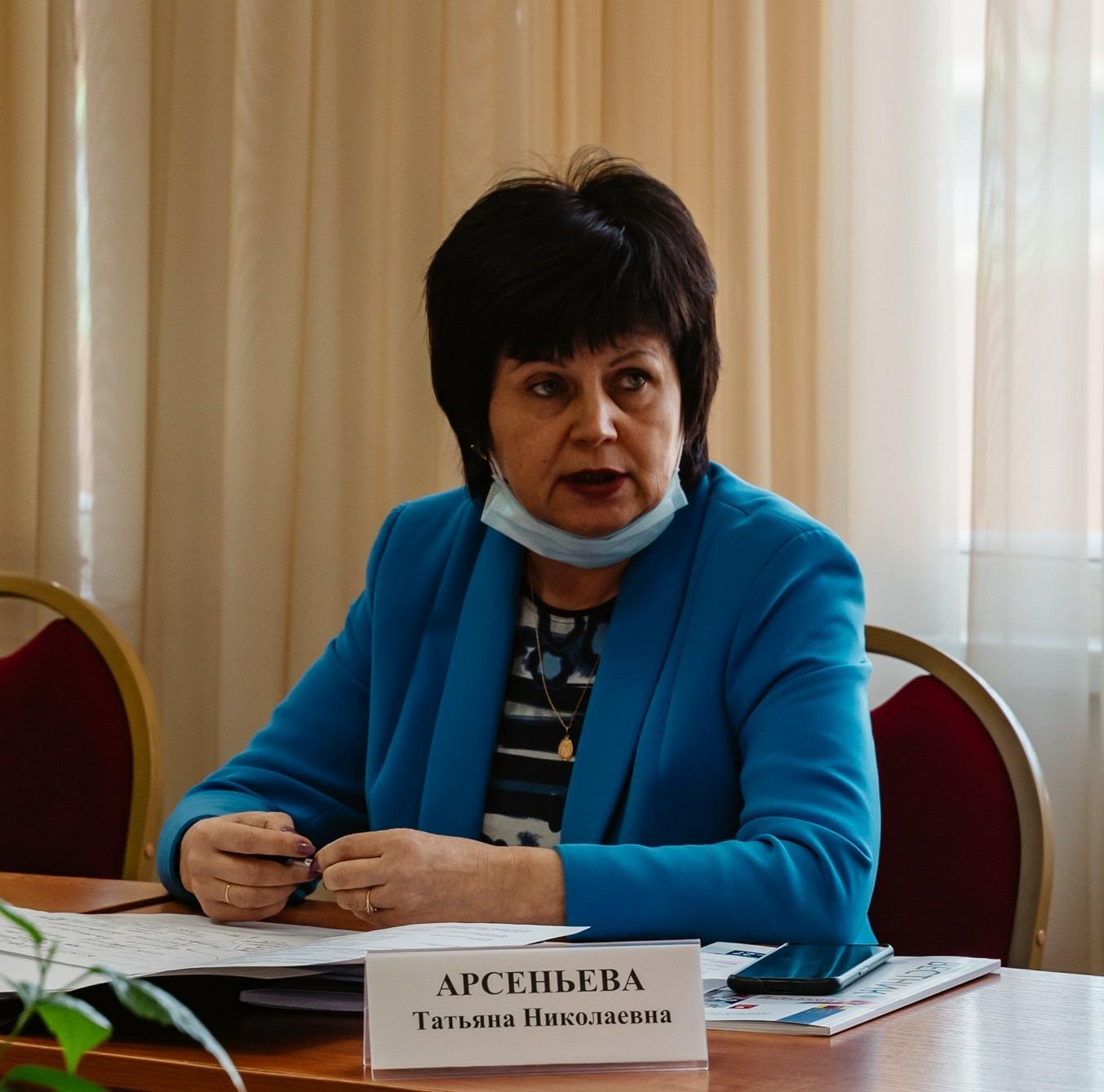 Татьяна Арсеньева: в рамках работы штаба важно организовать специальную подготовку добровольцев