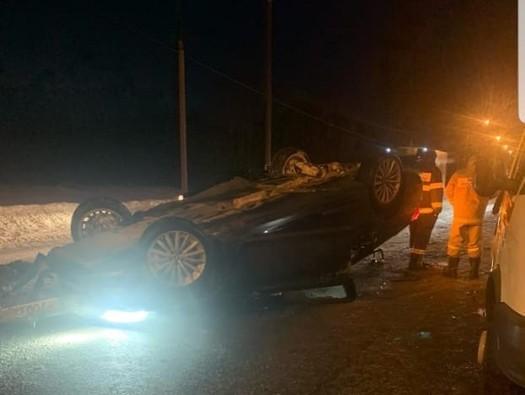 Водитель BMW умер из-за не пристёгнутого ремня
