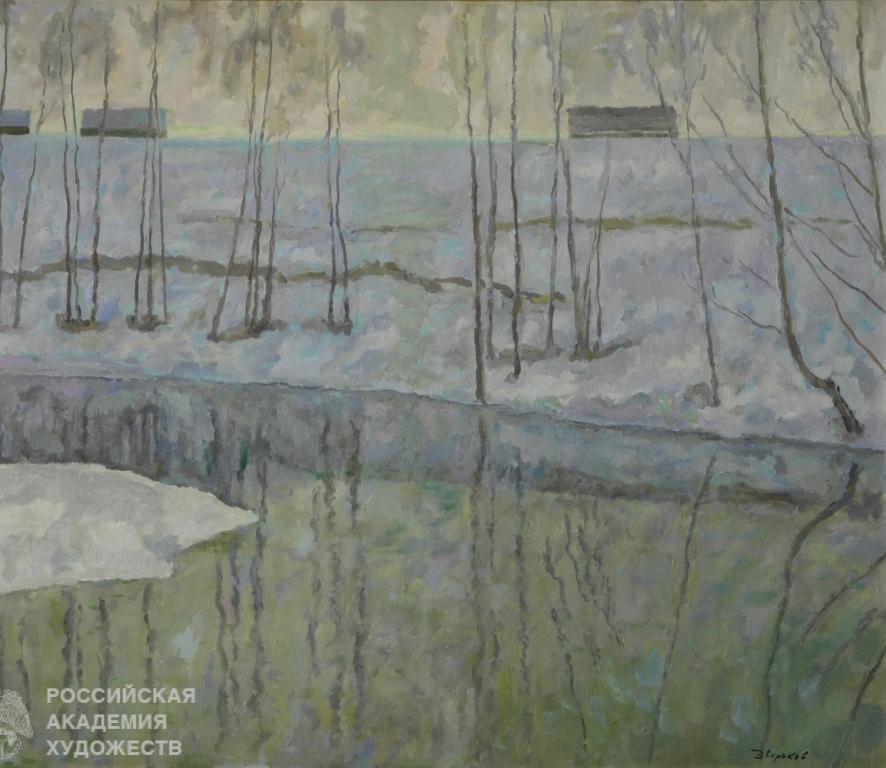 Российская академия художеств открыла выставку художника СССР и гражданина Тверской области Ефрема Зверькова