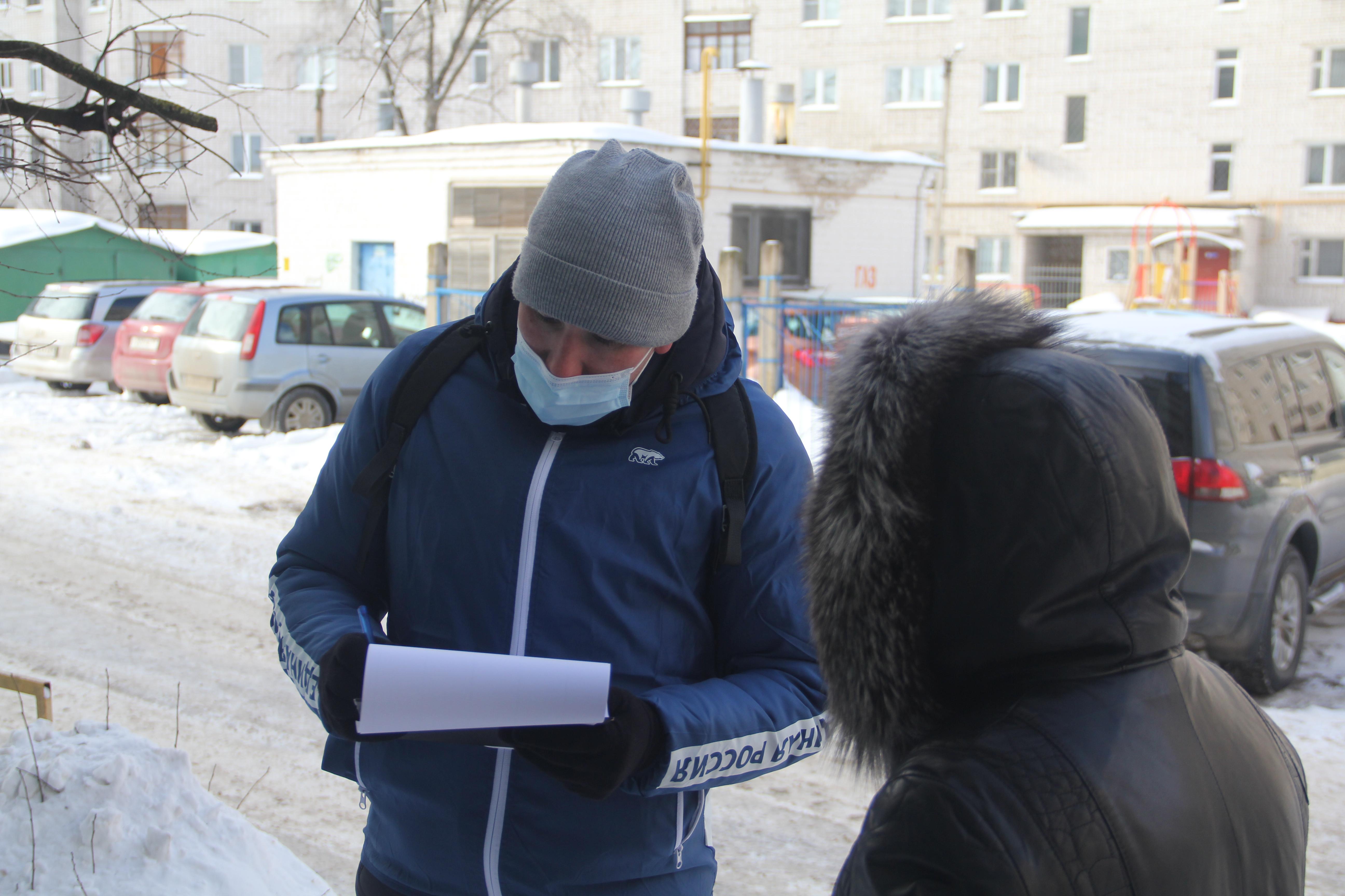 Активисты «Единой России» проверяют качество уборки снега в Твери