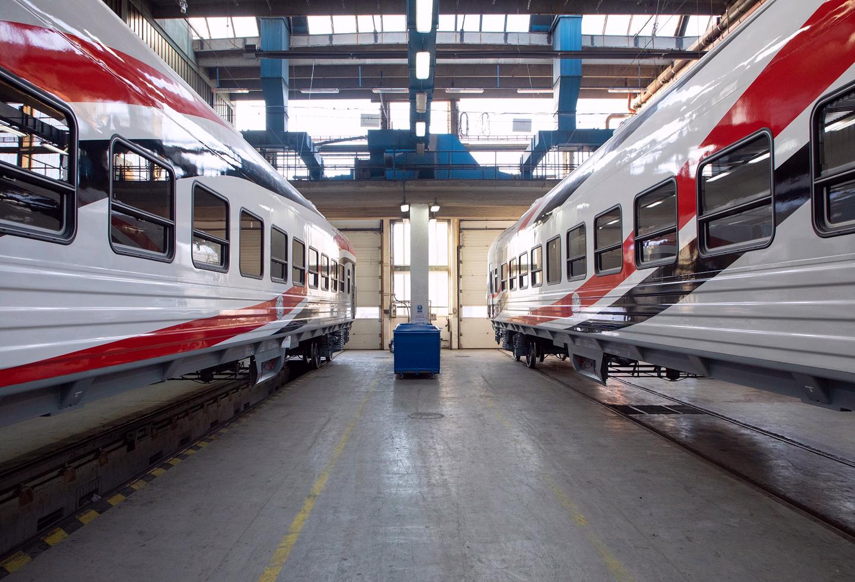 Первые вагоны, собранные в Венгрии из комплектующих Тверского вагоностроительного завода, отправили в Египет