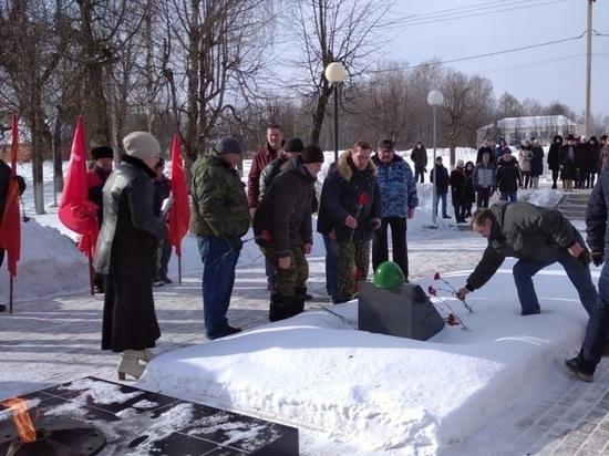 В Тверской области почтили память воинов-интернационалистов