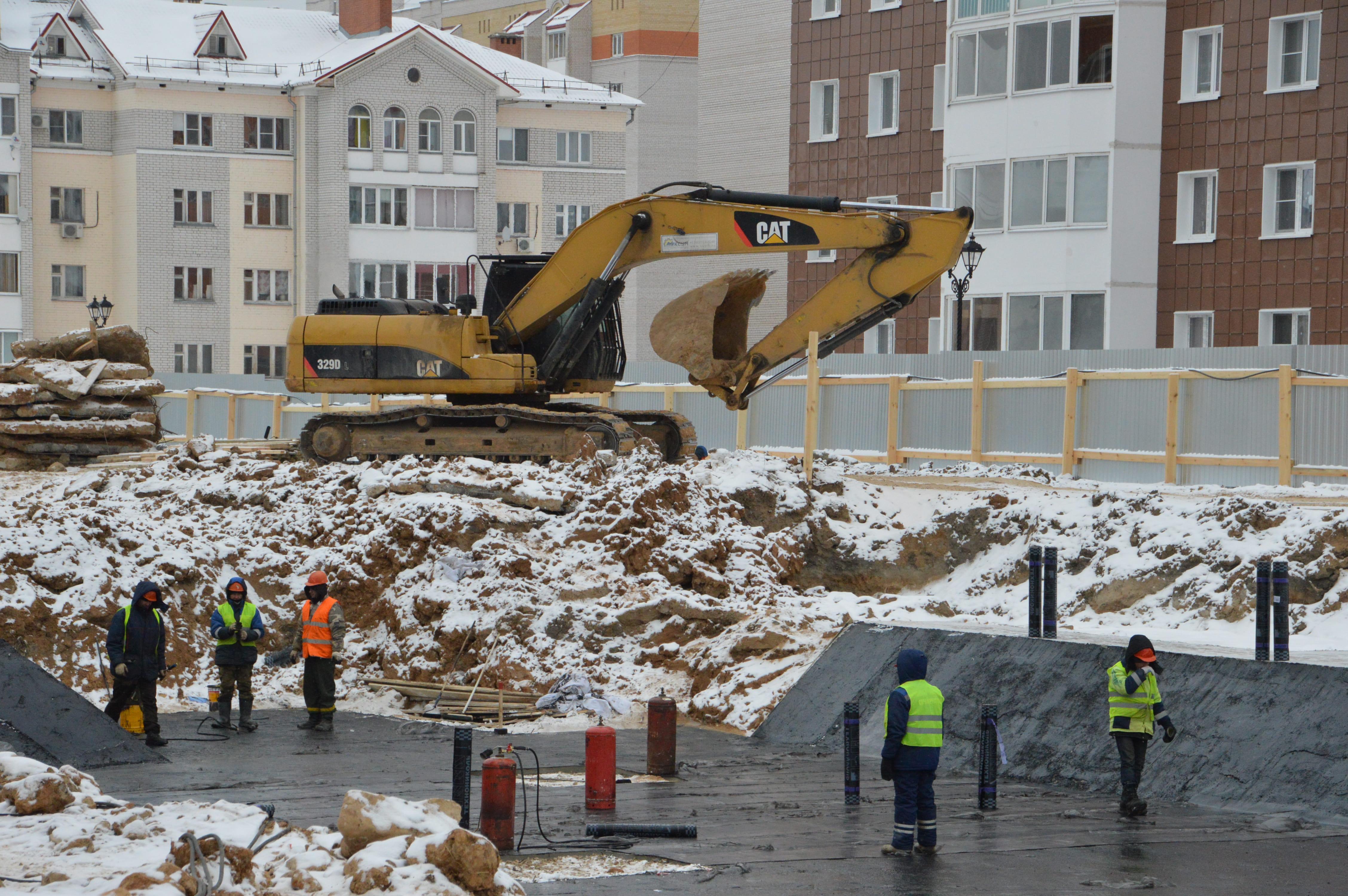 В Твери продолжается строительство трёх детских садов