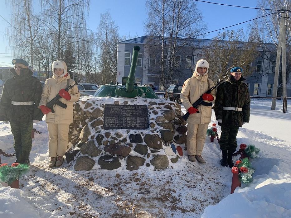 Героев Афгана и Чечни чествовали в Конаковском районе