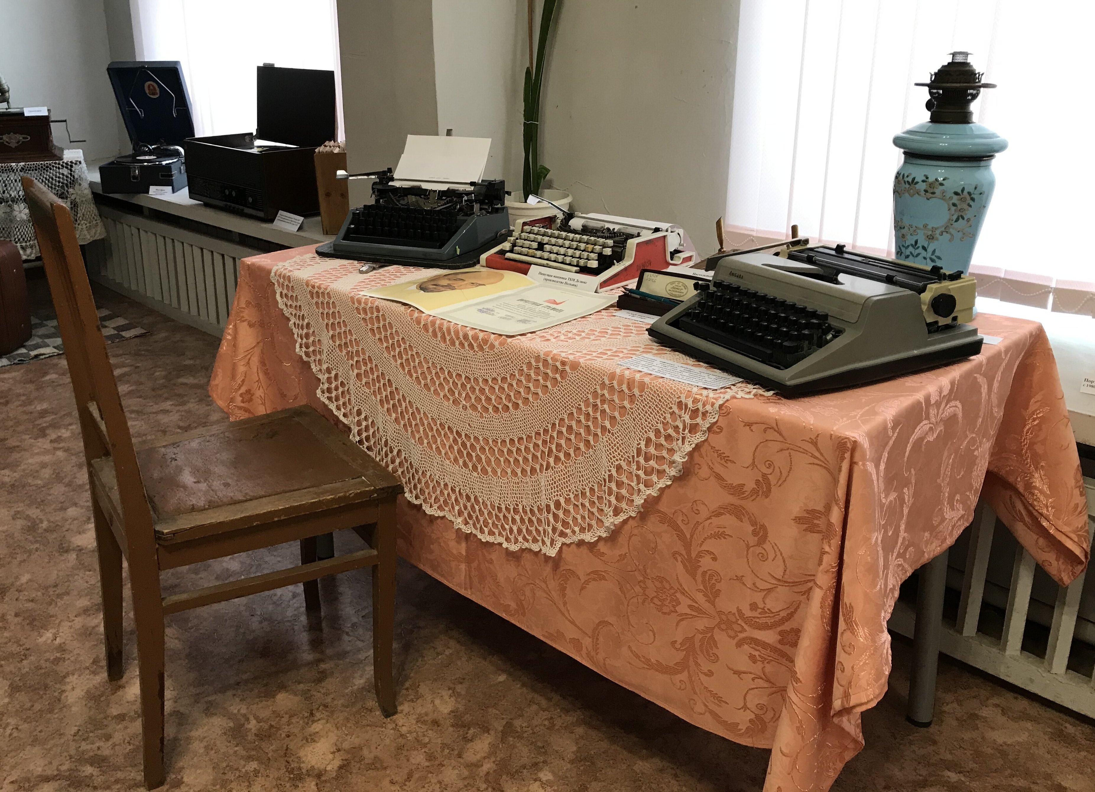 В городе Нелидово Тверской области открыта выставка, где можно совершить путешествие в прошлое