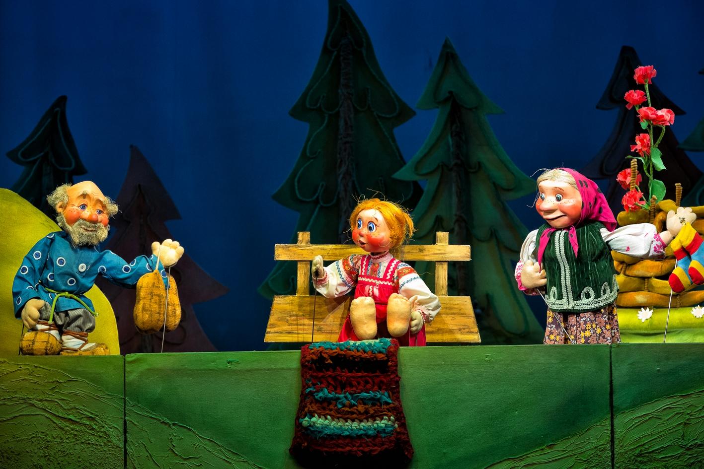 В Тверском театре кукол покажут русскую народную сказку