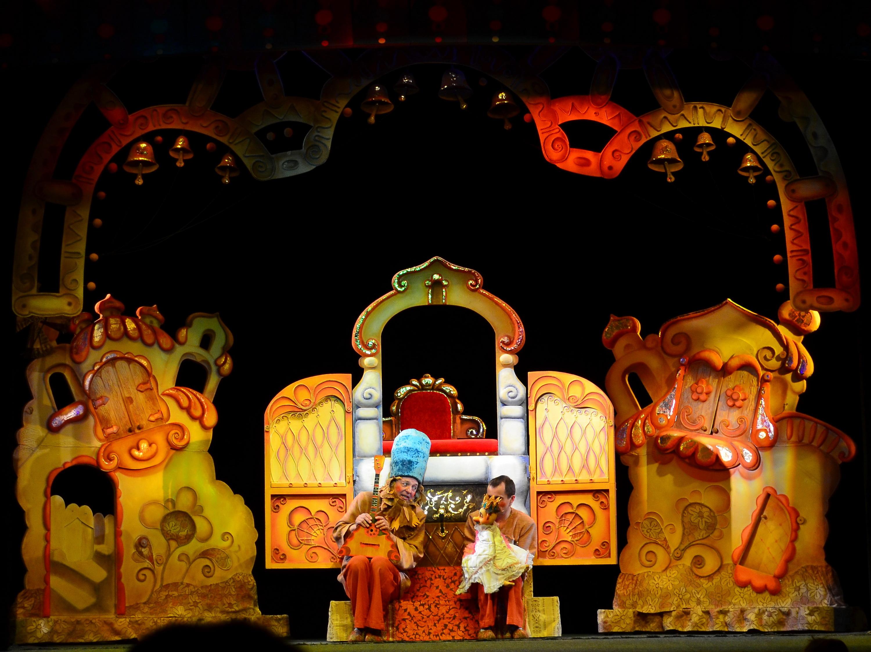 """В Тверском театр кукол покажут сказку """"Конёк - Горбунок"""""""