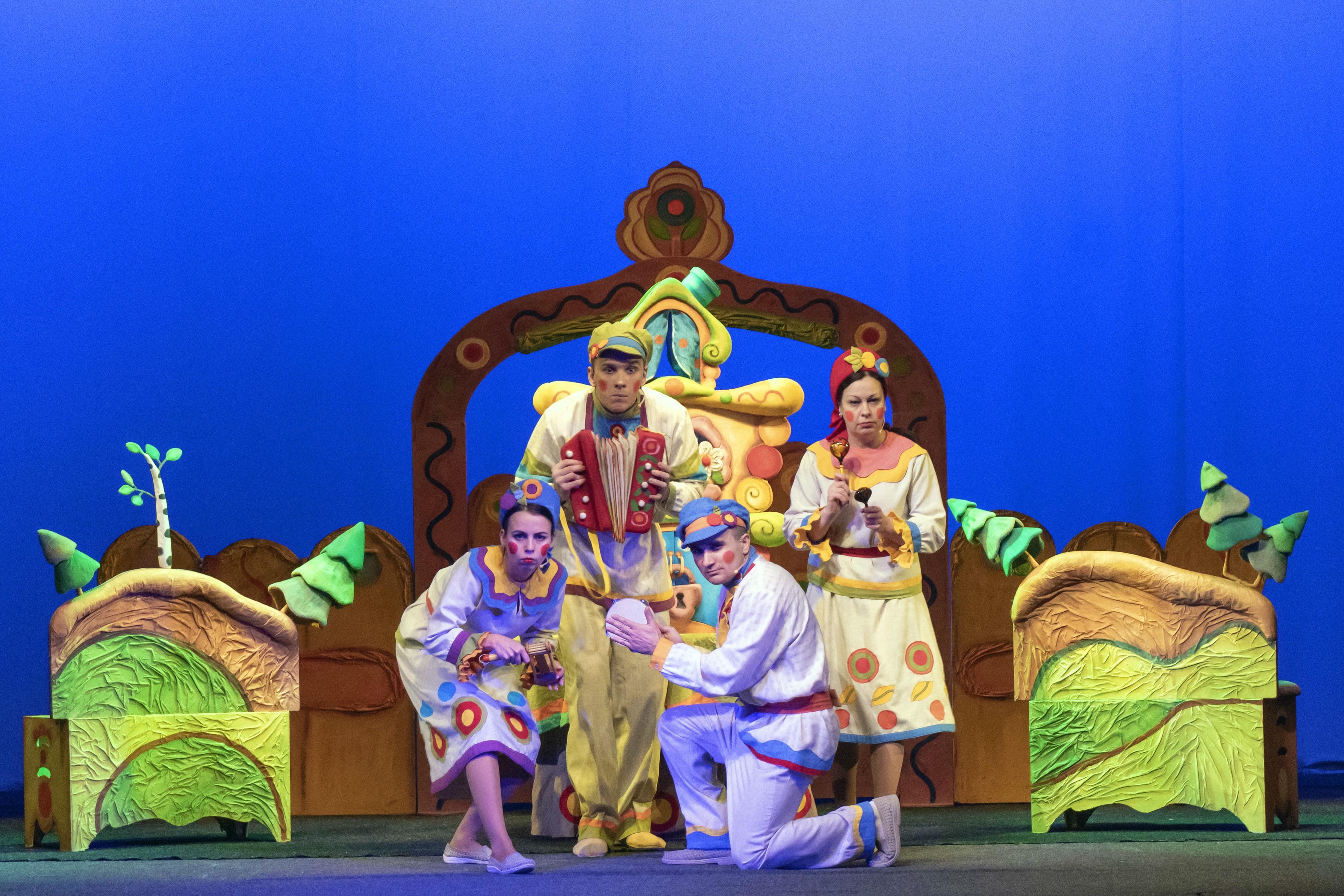 Тверской театр кукол приглашает на сказки