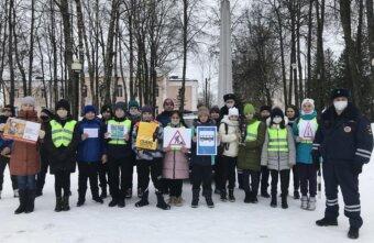 Сотрудники ГИБДД Лихославля провели профилактическую акцию