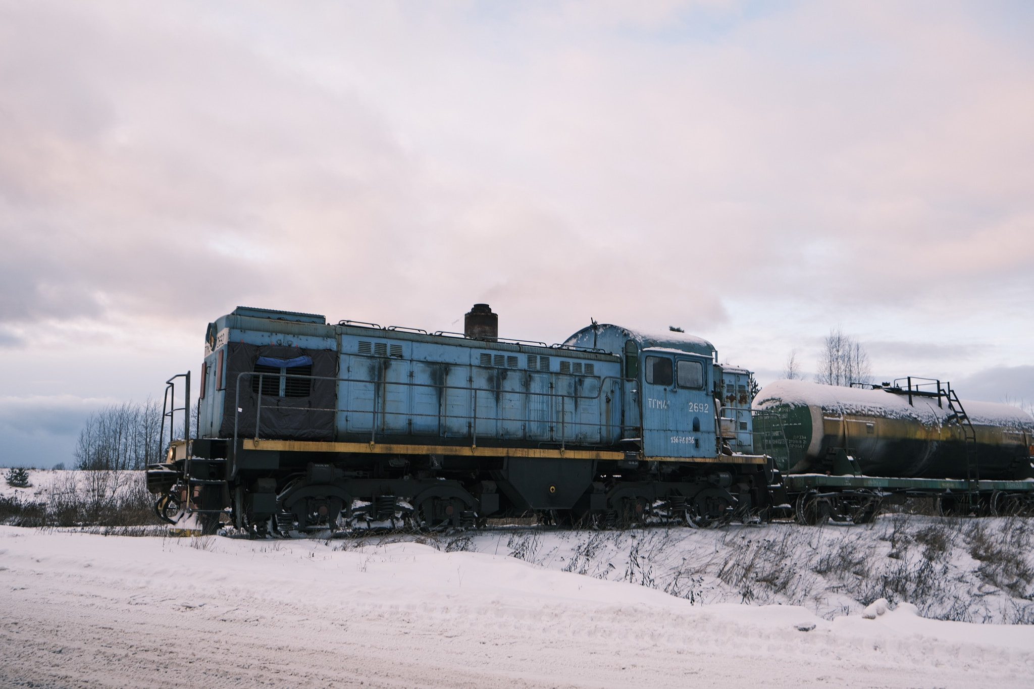 Эстетика железных дорог: фоторепортаж от тверского фотографа