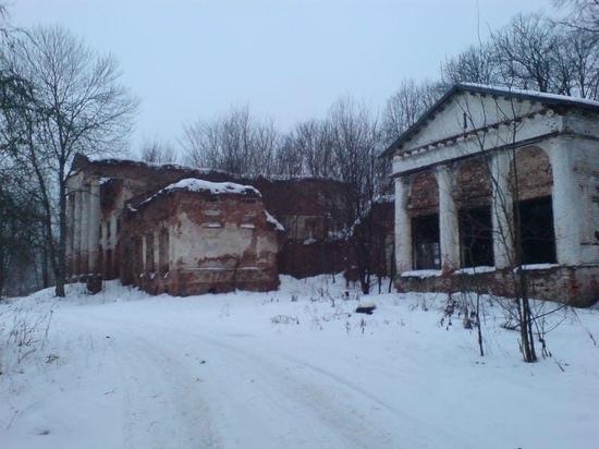 Историческую усадьбу восстанавливают в Оленинском МО