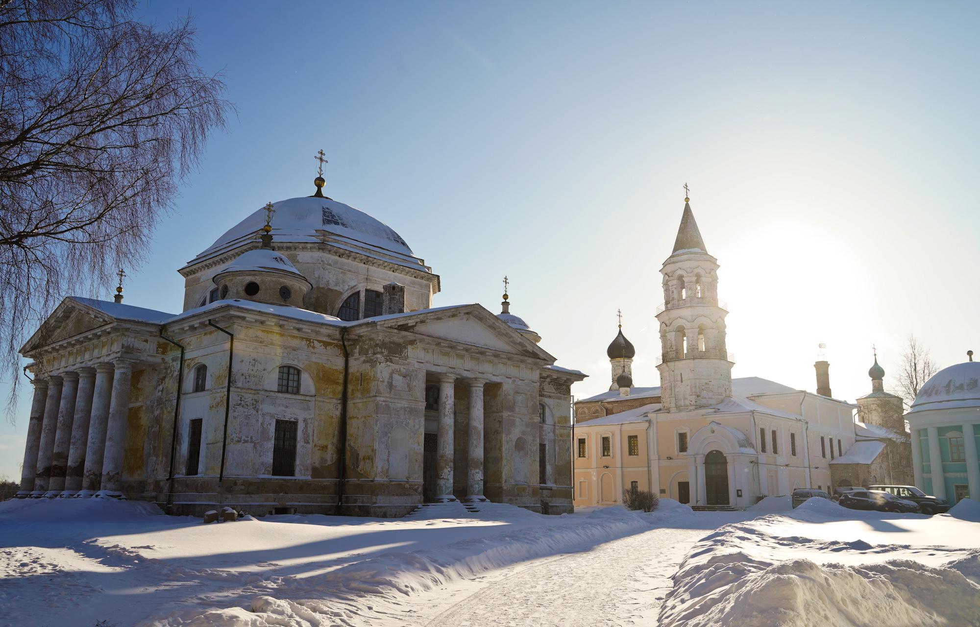 Реставрационные работы в Борисоглебском монастыре в Торжке планируется завершить в 2021 году