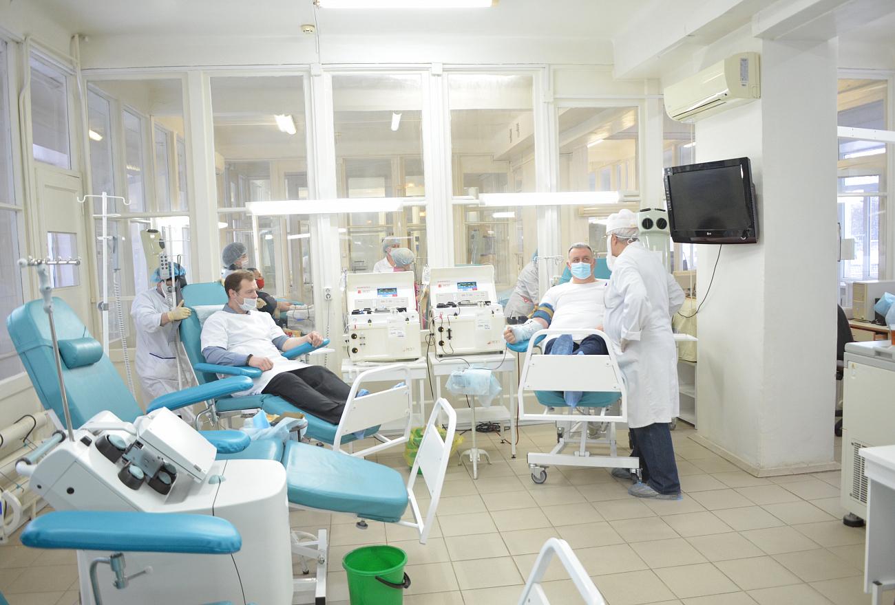 Для лечения больных коронавирусом в Тверской области заготовлена антиковидная плазма