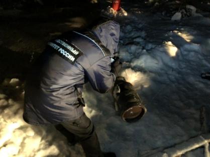 В Тверской области в сгоревшей постройке нашли тела четверых мужчин