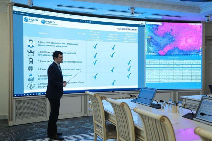 Игорь Маковский представил инновационные разработки управления энергосетевым комплексом