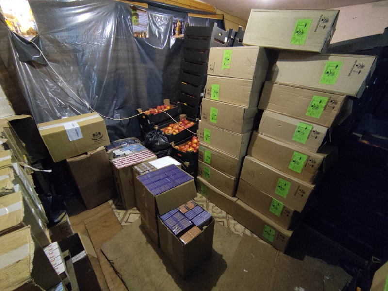 У жителей Тверской области нашли тысячи немаркированных сигарет