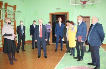 В Вышневолоцкой гимназии отреставрируют спортзал, фасад и кровлю