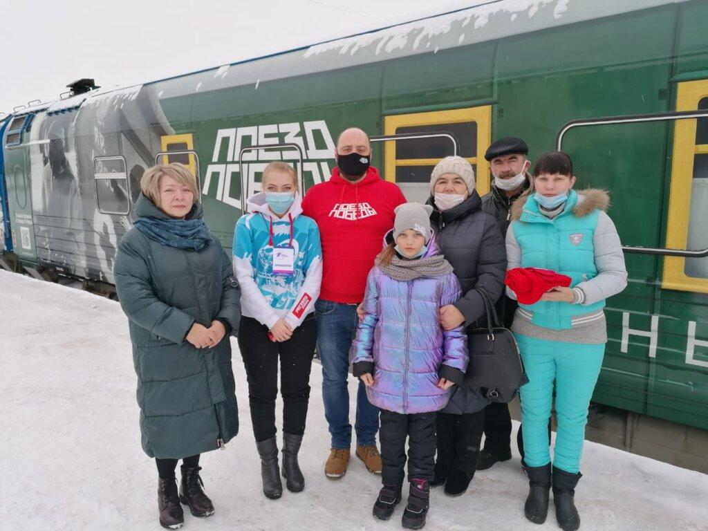 На передвижной экспозиции «Поезд Победы» в Ржеве Тверской области побывал 50-тысячный посетитель