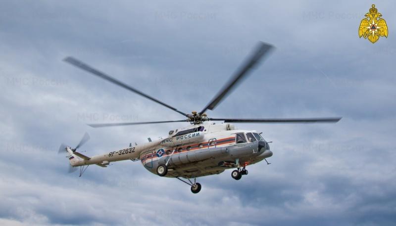 Вертолет санавиации доставил в Тверь пациента из Старицкой ЦРБ