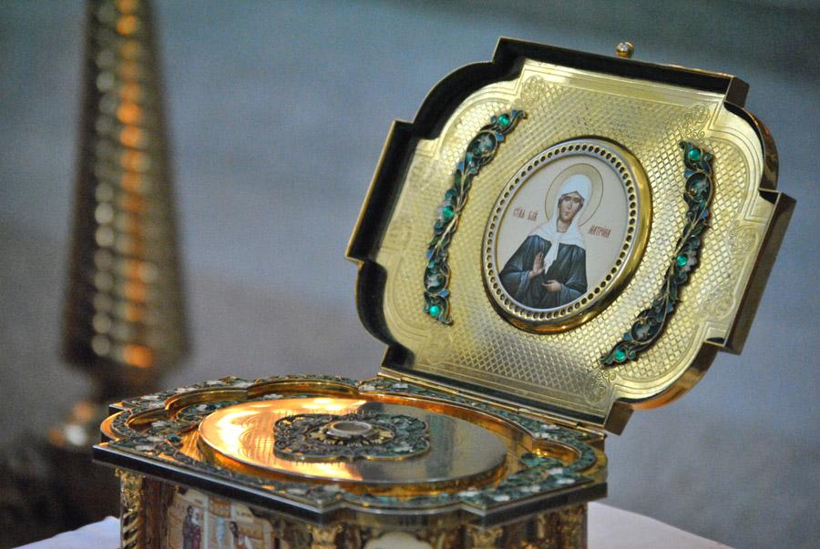 В Твери удастся прикоснуться к частице мощей святой Матроны Московской