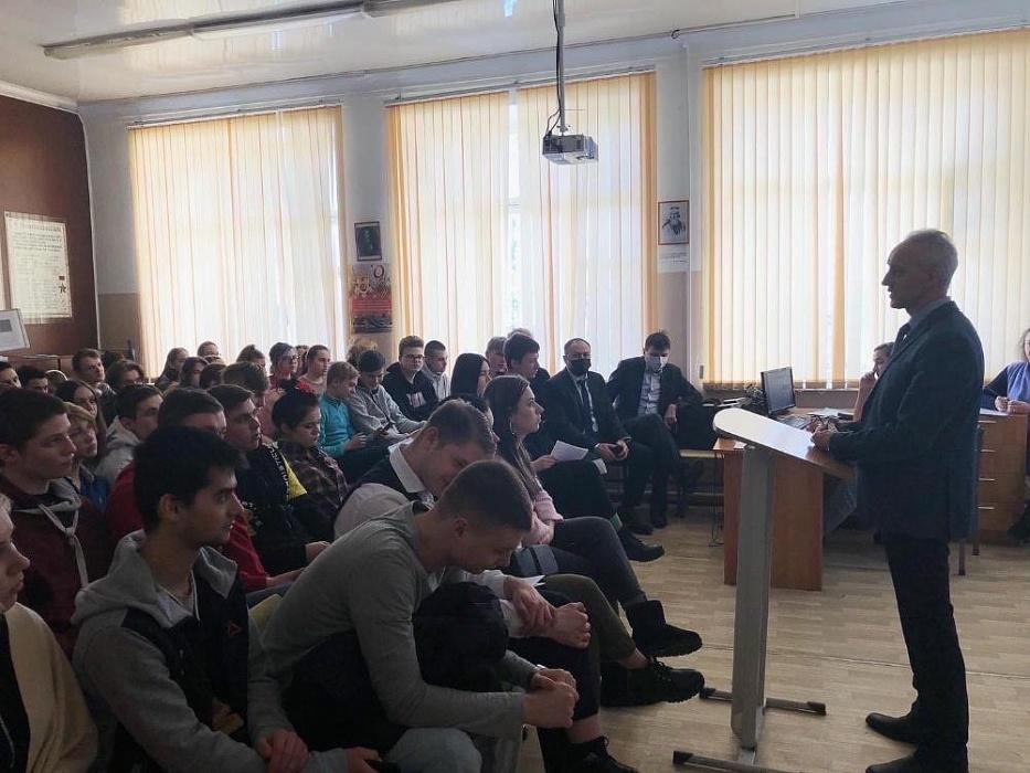 Студентам Конаковского колледжа рассказали о зарубежных стажировках