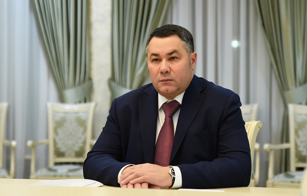 Игорь Руденя и Наталья Виноградова обсудили газификацию Лихославльского района